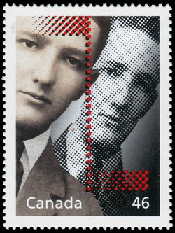 Sir William Stephenson: A Man Called Inventor Canada Postage Stamp | The Millennium Collection, Media Technologies