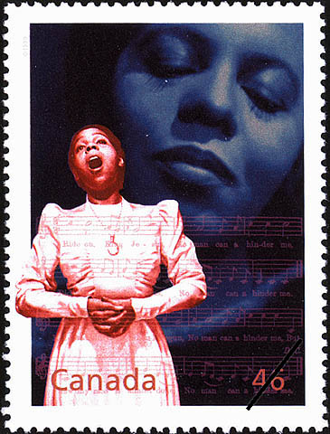 Portia White: Irrepressible Talent Canada Postage Stamp | The Millennium Collection, Extraordinary Entertainers