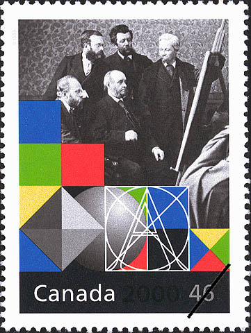 Royal Canadian Academy of Arts Canada Postage Stamp