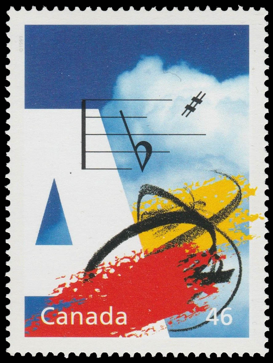 The Canada Council: Friend to the Arts Canada Postage Stamp | The Millennium Collection, Fostering Canadian Talent