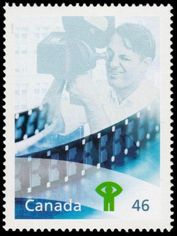 National Film Board of Canada Canada Postage Stamp | The Millennium Collection, Fostering Canadian Talent