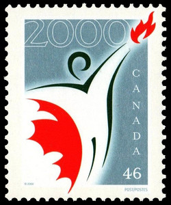 Canada Millennium Partnership Program Canada Postage Stamp