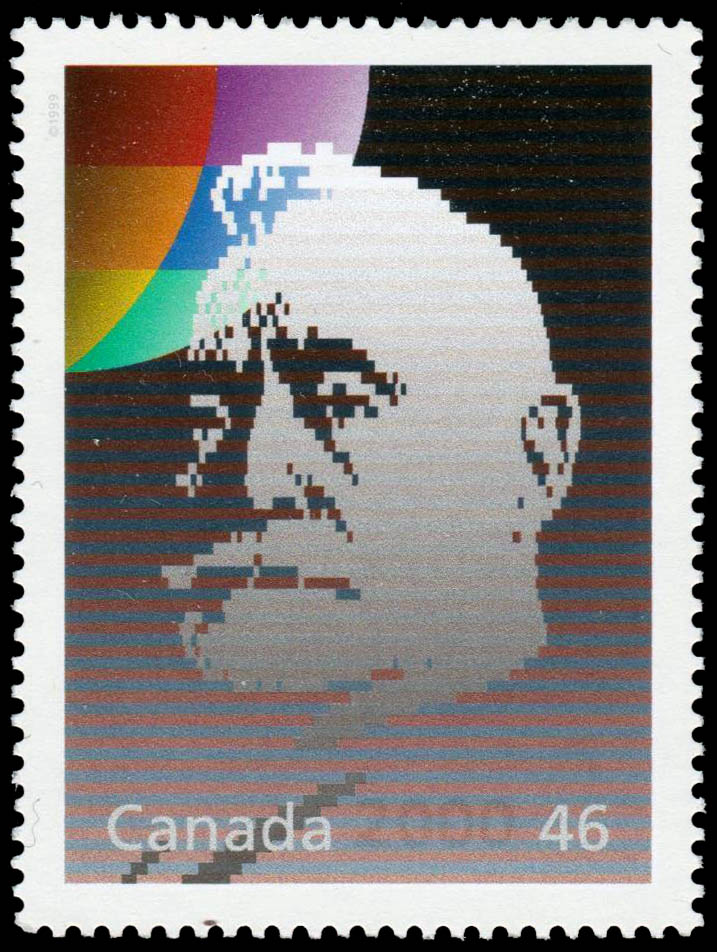 Raoul Dandurand: Senator and Diplomat Canada Postage Stamp | The Millennium Collection, Humanitarians and Peacekeepers