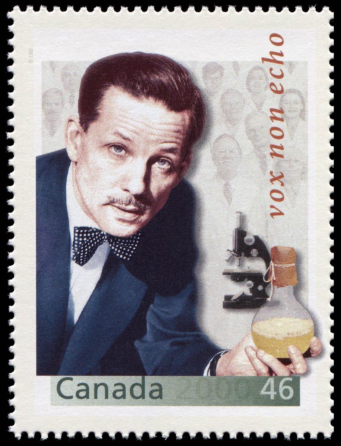 Armand Frappier: Champion Disease Fighter Canada Postage Stamp