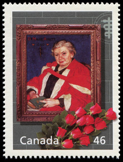 Maude Abbott: The Heart of the Matter Canada Postage Stamp | The Millennium Collection, Medical Innovators