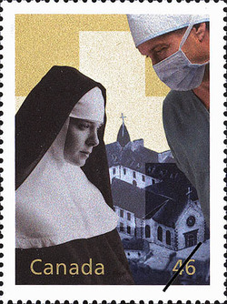 From Les Hospitalieres de Quebec to Medicare Canada Postage Stamp   The Millennium Collection, Social Progress