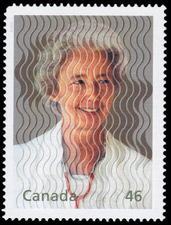 Lucille Teasdale and Missionaries: Helping the Poor and Sick Canada Postage Stamp | The Millennium Collection, Hearts of Gold