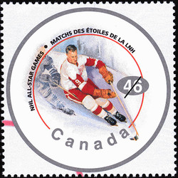 "Gordie Howe, ""Mr. Hockey"" Canada Postage Stamp 