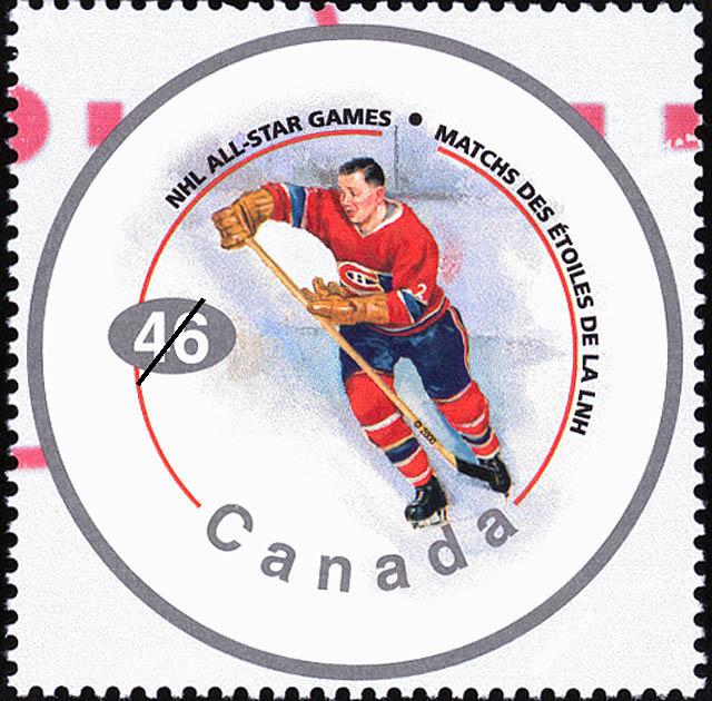 Doug Harvey Canada Postage Stamp | NHL All-Stars