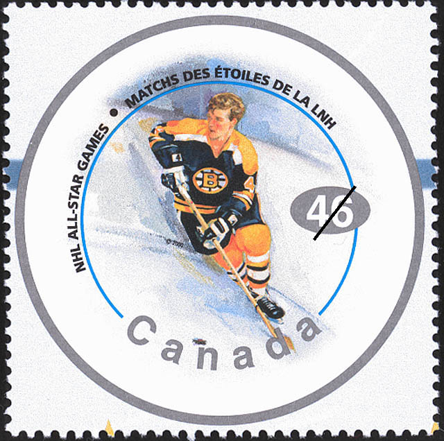 Bobby Orr Canada Postage Stamp | NHL All-Stars