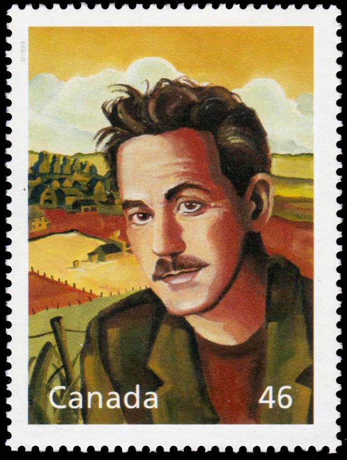 William Ormond Mitchell: The Prairie Son Canada Postage Stamp | The Millennium Collection, Literary Legends