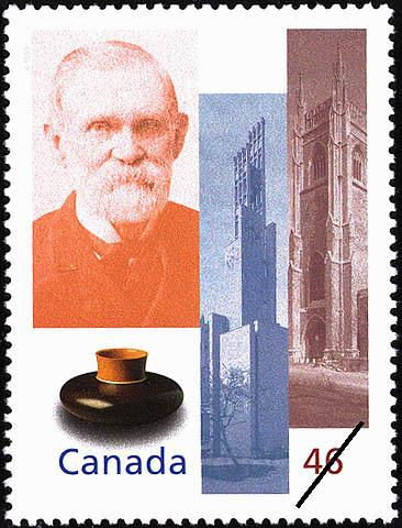 Massey Foundation Canada Postage Stamp