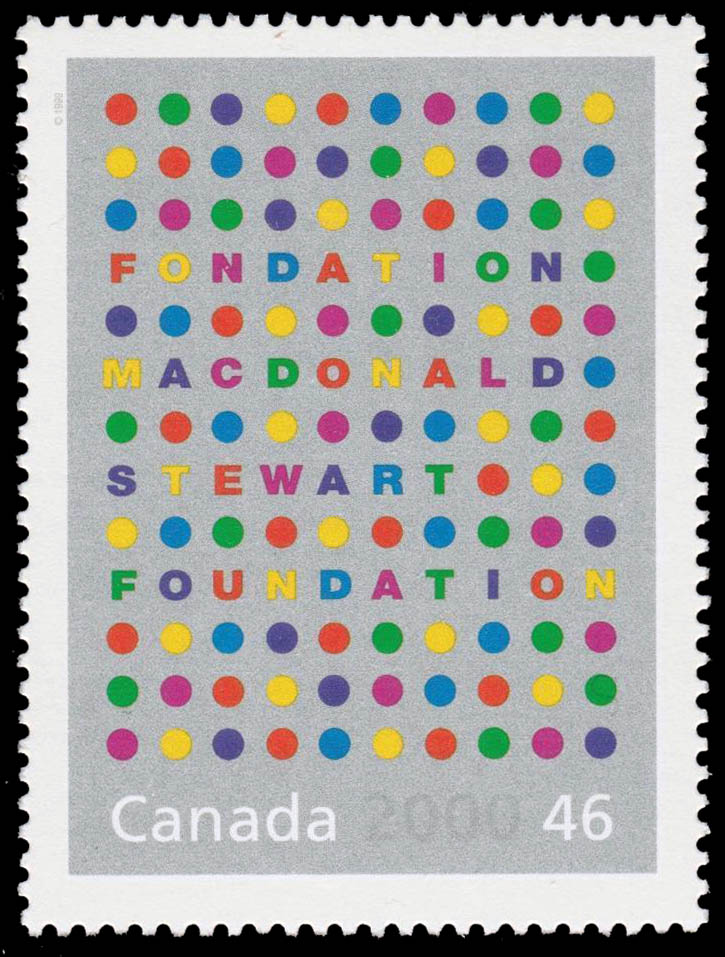 Macdonald Stewart Foundation Canada Postage Stamp | The Millennium Collection, A Tradition of Generosity