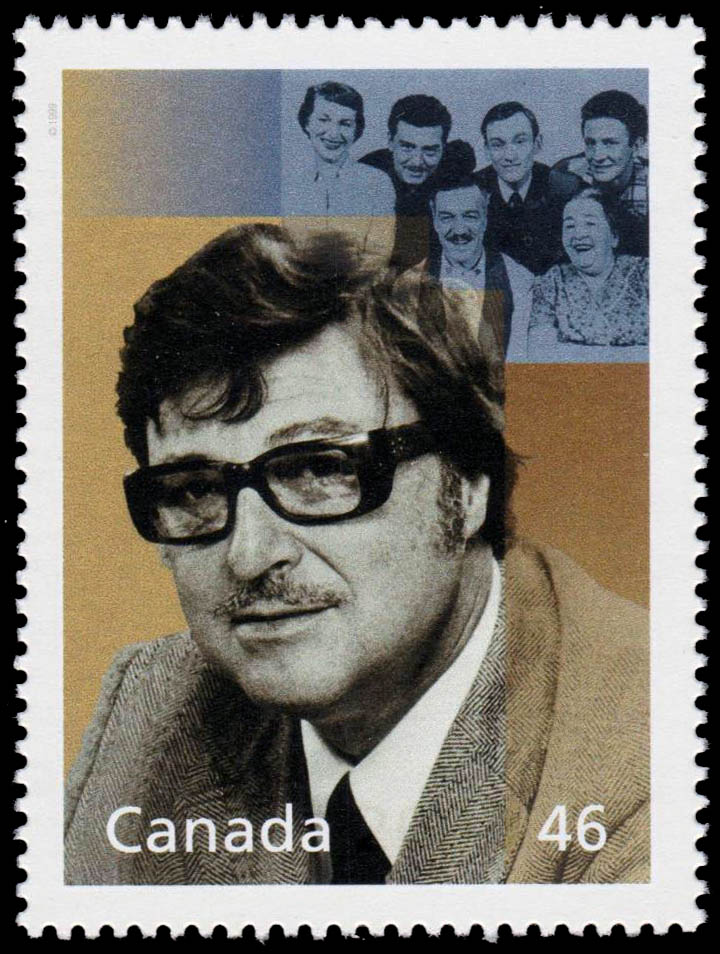 Roger Lemelin and the Plouffe Family Canada Postage Stamp | The Millennium Collection, Great Thinkers