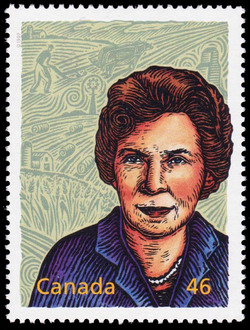 Hilda Marion Neatby: In Love with Learning Canada Postage Stamp | The Millennium Collection, Great Thinkers