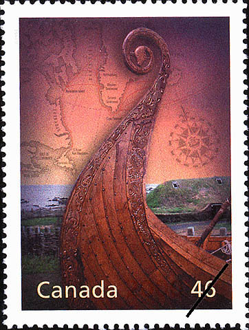L'Anse aux Meadows: World Heritage Site Canada Postage Stamp | The Millennium Collection, Canada's Cultural Fabric