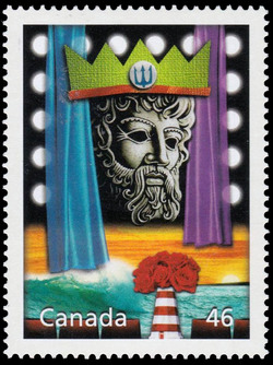 The Neptune Story Canada Postage Stamp | The Millennium Collection, Canada's Cultural Fabric