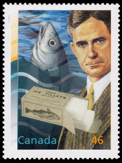 Dr. Archibald Gowanlock Huntsman: The Fisherman's Friend Canada Postage Stamp | The Millennium Collection, Food, Glorious Food!
