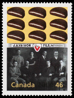 Rose-Anna Vachon: Baker from the Beauce Canada Postage Stamp | The Millennium Collection, Enterprising Giants
