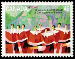 The Supreme Court of Canada, 1875-2000 Canada Postage Stamp