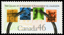 The Calling of an Engineer Canada Postage Stamp