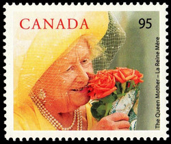 The Queen Mother Canada Postage Stamp