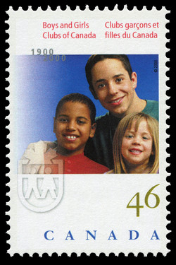 Boys and Girls Clubs of Canada, 1900-2000 Canada Postage Stamp