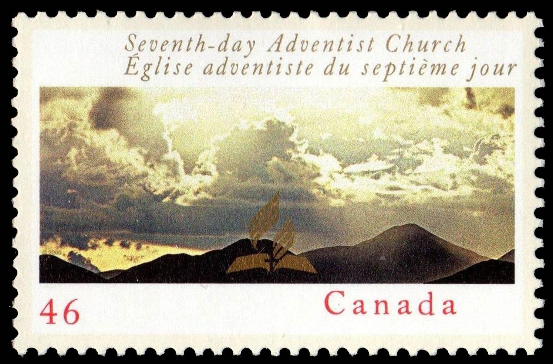 Seventh-Day Adventist Church Canada Postage Stamp
