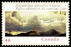 Seventh-Day Adventist Church Canada Postage Stamp