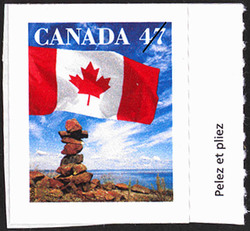Flag Canada Postage Stamp | Canadian Flag