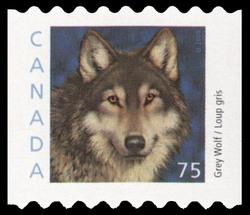 Grey Wolf Canada Postage Stamp | Canadian Animals