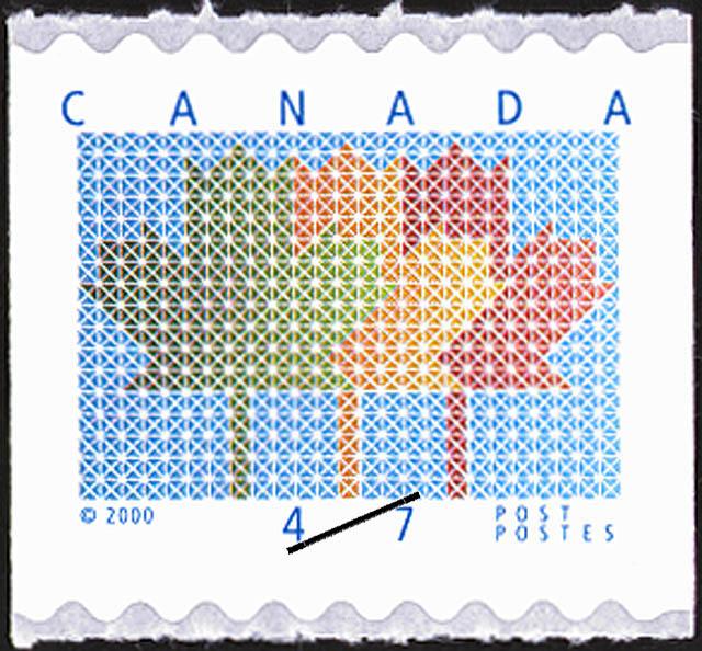 Maple Leaf Canada Postage Stamp | Three Maple Leaves