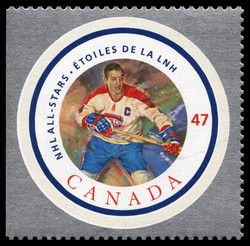 Jean Beliveau Canada Postage Stamp | NHL All-Stars