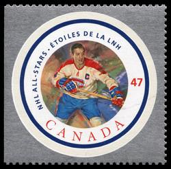 Jean Beliveau Canada Postage Stamp | NHL All-Stars