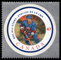 Denis Potvin Canada Postage Stamp | NHL All-Stars