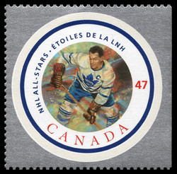 Syl Apps Canada Postage Stamp | NHL All-Stars