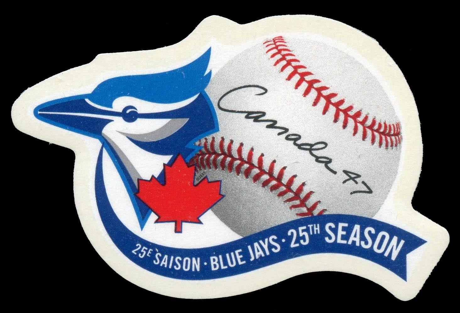 Blue Jays, 25th Season Canada Postage Stamp