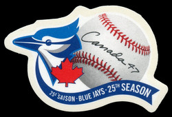 Blue Jays, 25th Season Canada Postage Stamp