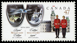 Royal Military College of Canada, 1876-2001 Canada Postage Stamp