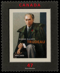 Pierre Elliott Trudeau, 1919-2000 Canada Postage Stamp
