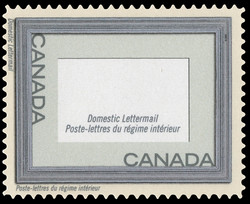Silver Frame Canada Postage Stamp | Greeting Stamps