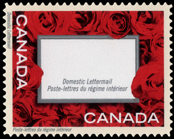 """""""Love"""" Frame Canada Postage Stamp 