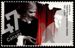 Theatre du Nouveau Monde, 1951-2001, Montreal, Quebec Canada Postage Stamp | Theatres