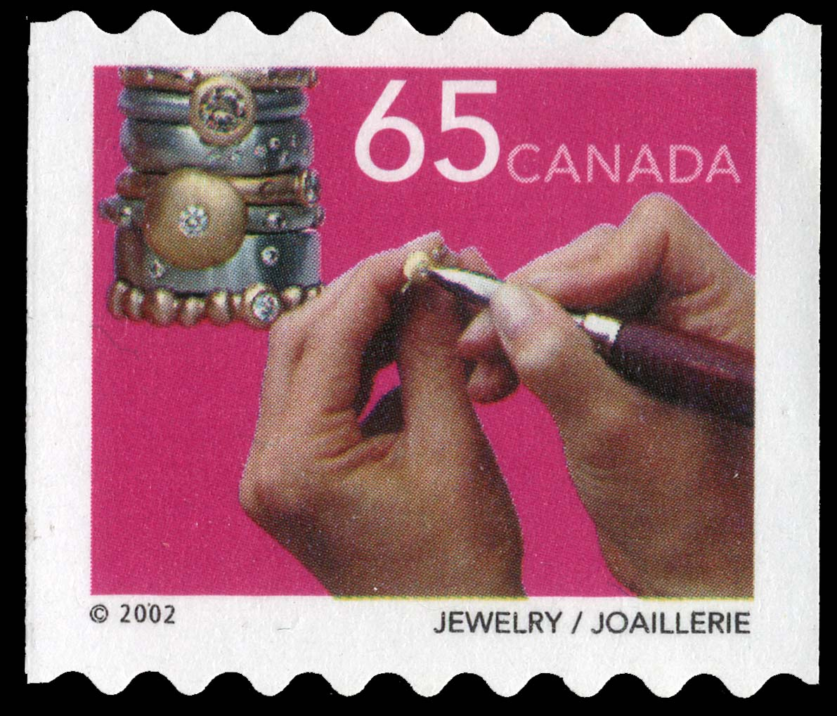 Jewelry Canada Postage Stamp | Traditional Trades