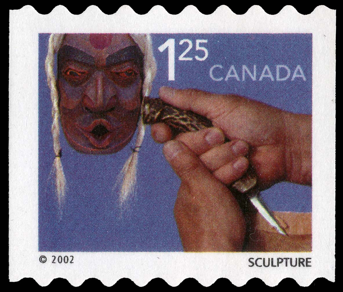 Sculpture Canada Postage Stamp | Traditional Trades
