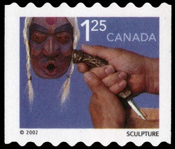 Sculpture Canada Postage Stamp   Traditional Trades