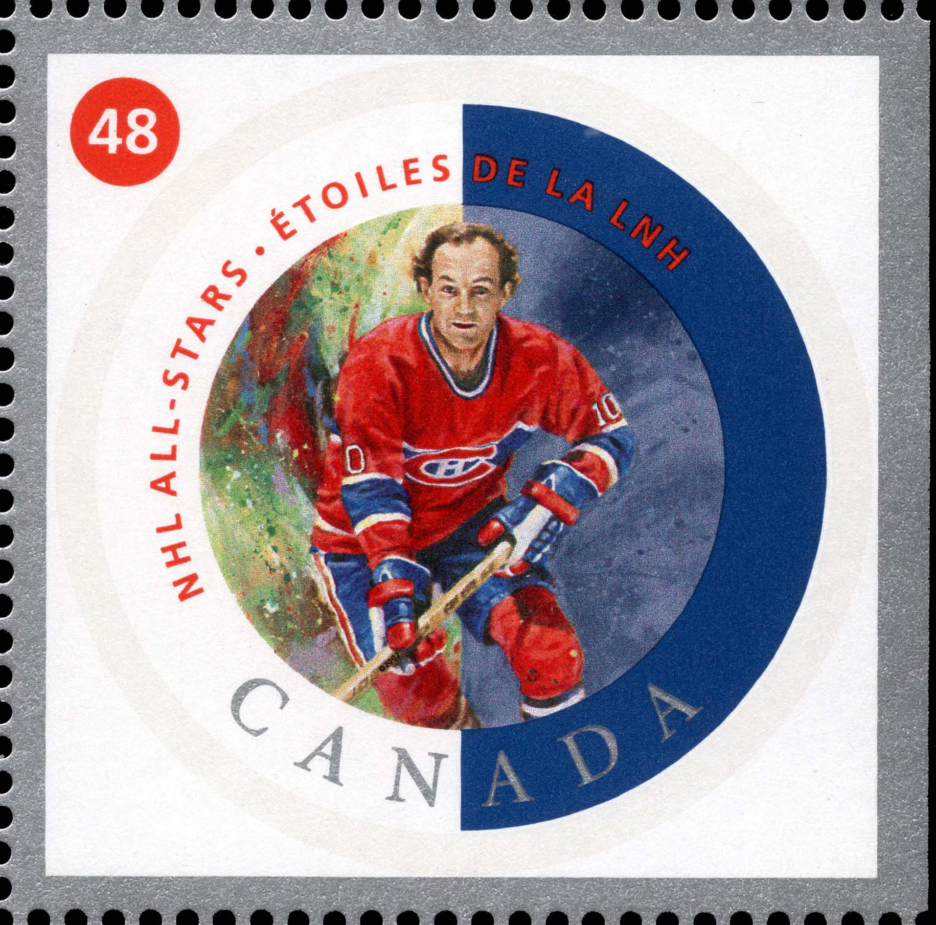 Guy Lafleur Canada Postage Stamp | NHL All-Stars