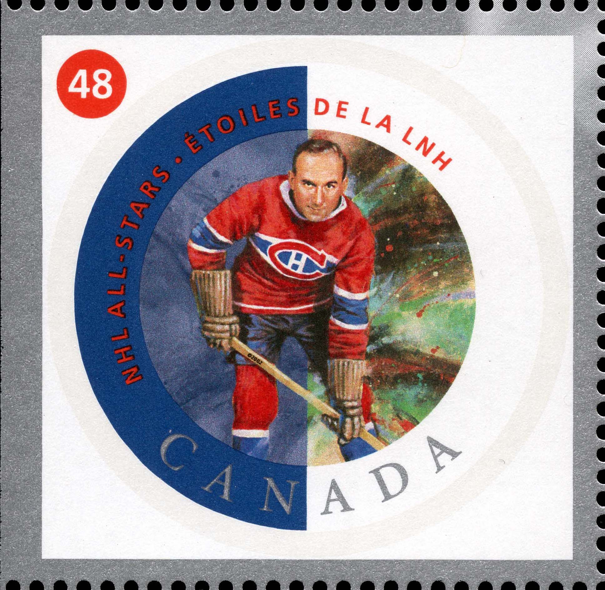 Howie Morenz Canada Postage Stamp | NHL All-Stars