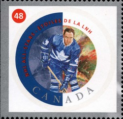Red Kelly Canada Postage Stamp | NHL All-Stars
