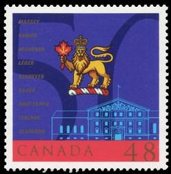 Canadian Governors General, 1952-2002, Massey, Vanier, Michener, Leger, Schreyer, Sauve, Hnatyshyn, Leblanc, Clarkson Canada Postage Stamp